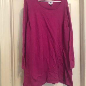 Great tunic type sweater